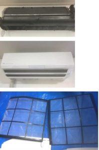 エアコン、エアコンフィルター、エアコン汚れ