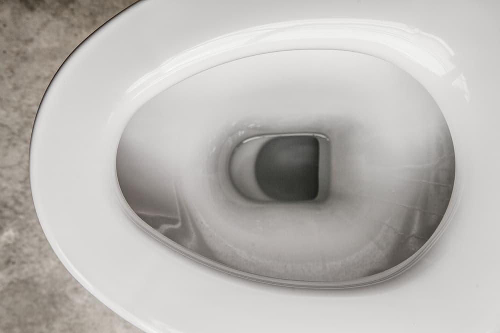 トイレの黒ずみ