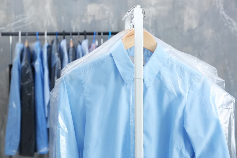 クリーニングのシャツ