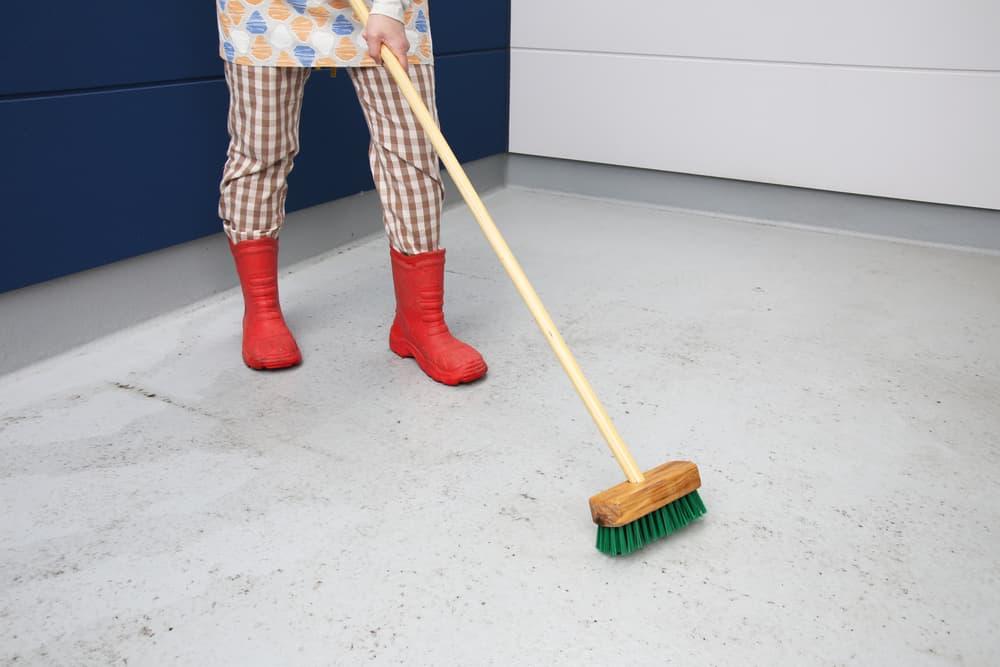 ベランダ掃除2