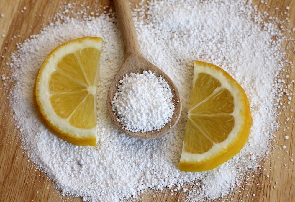 クエン酸とレモンの写真