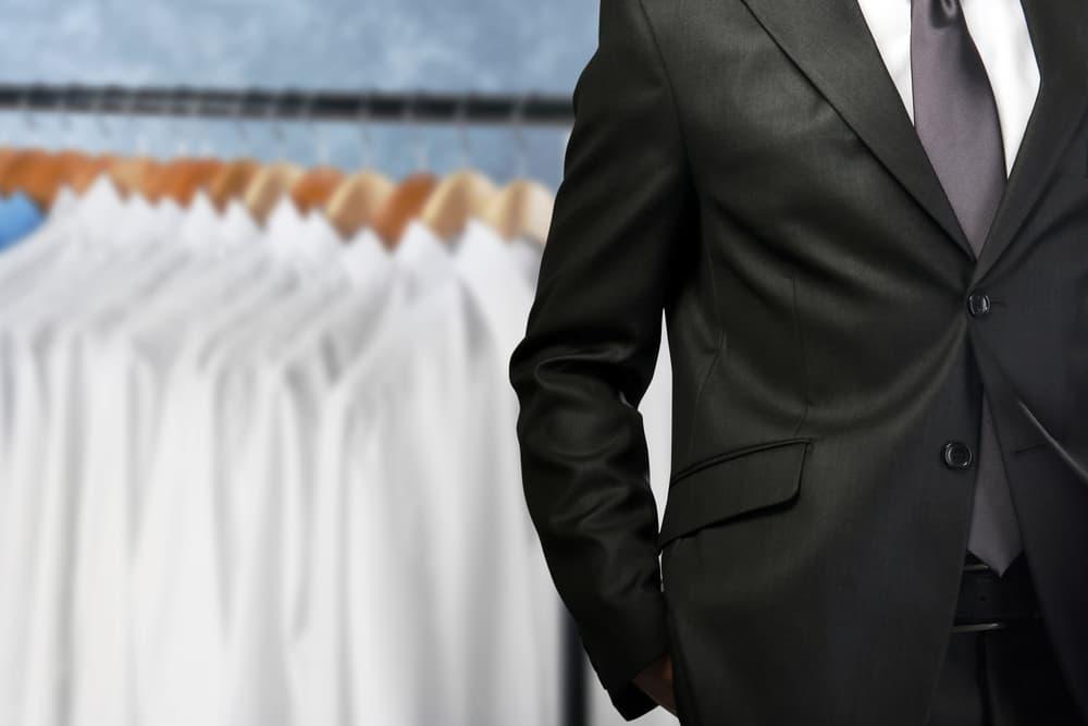 スーツの写真