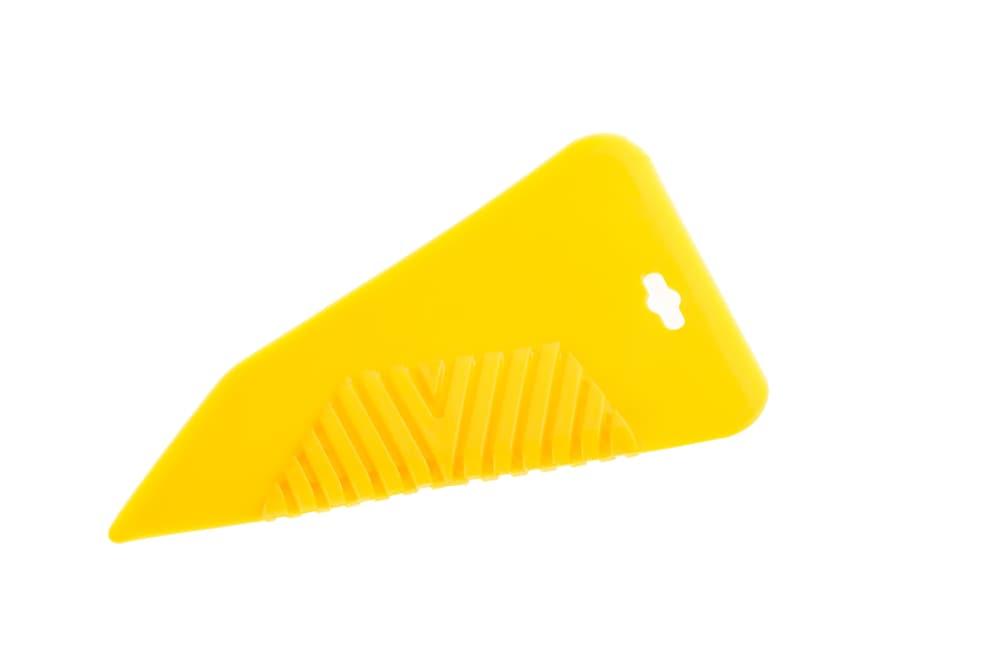 黄色いゴムベラ