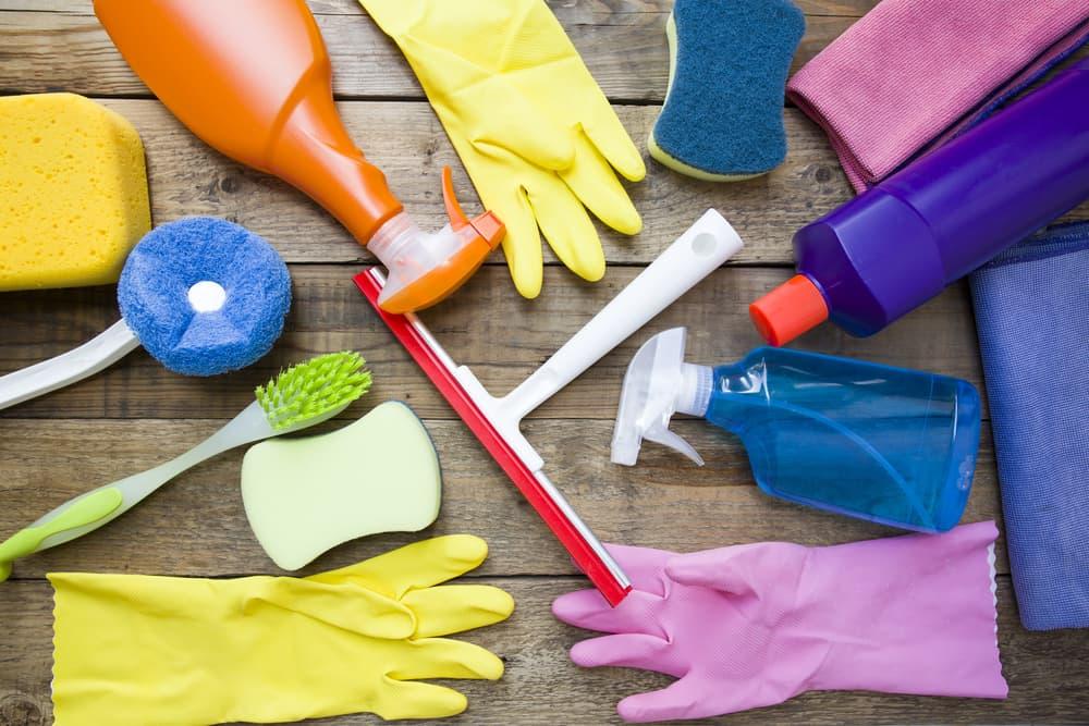ハウスクリーニングで使用する掃除用品