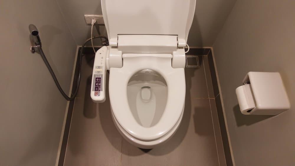 一般家庭によくあるタイプのトイレ