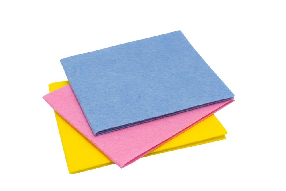 カラフルな色合いの雑巾