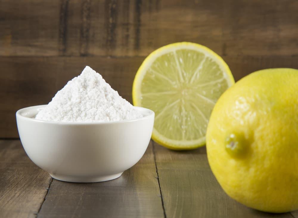 重曹とレモンのアップ