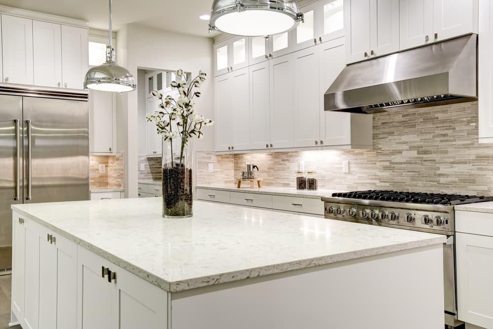 清潔なキッチンの画像