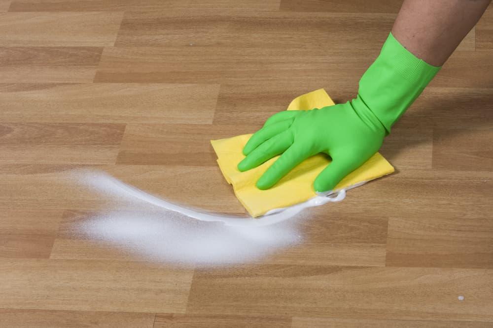 フローリング掃除2