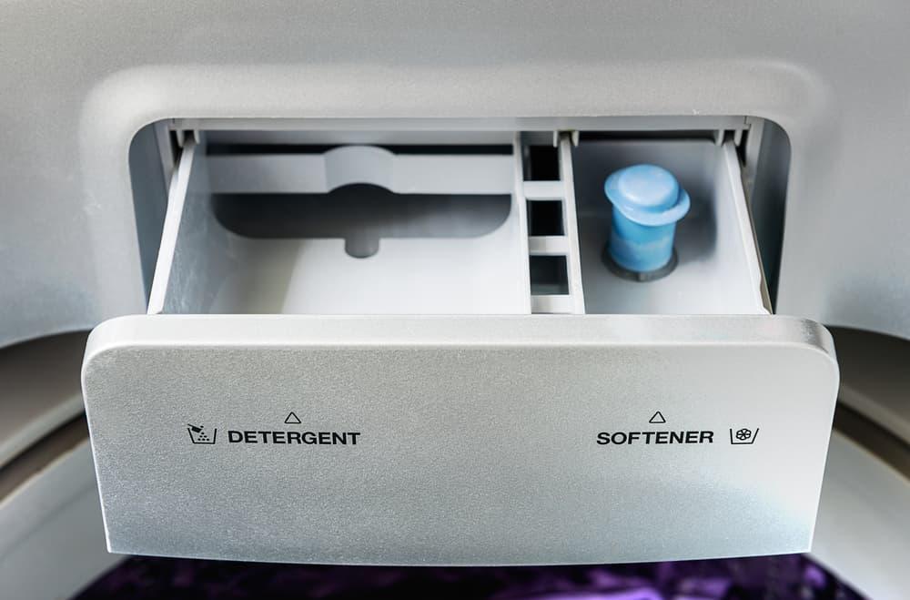 洗濯機の洗剤投入口
