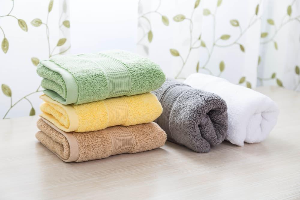 畳んで置いてあるタオル