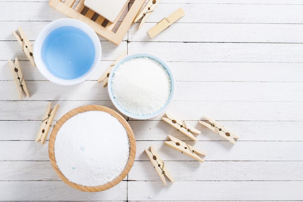 液体洗剤と粉洗剤